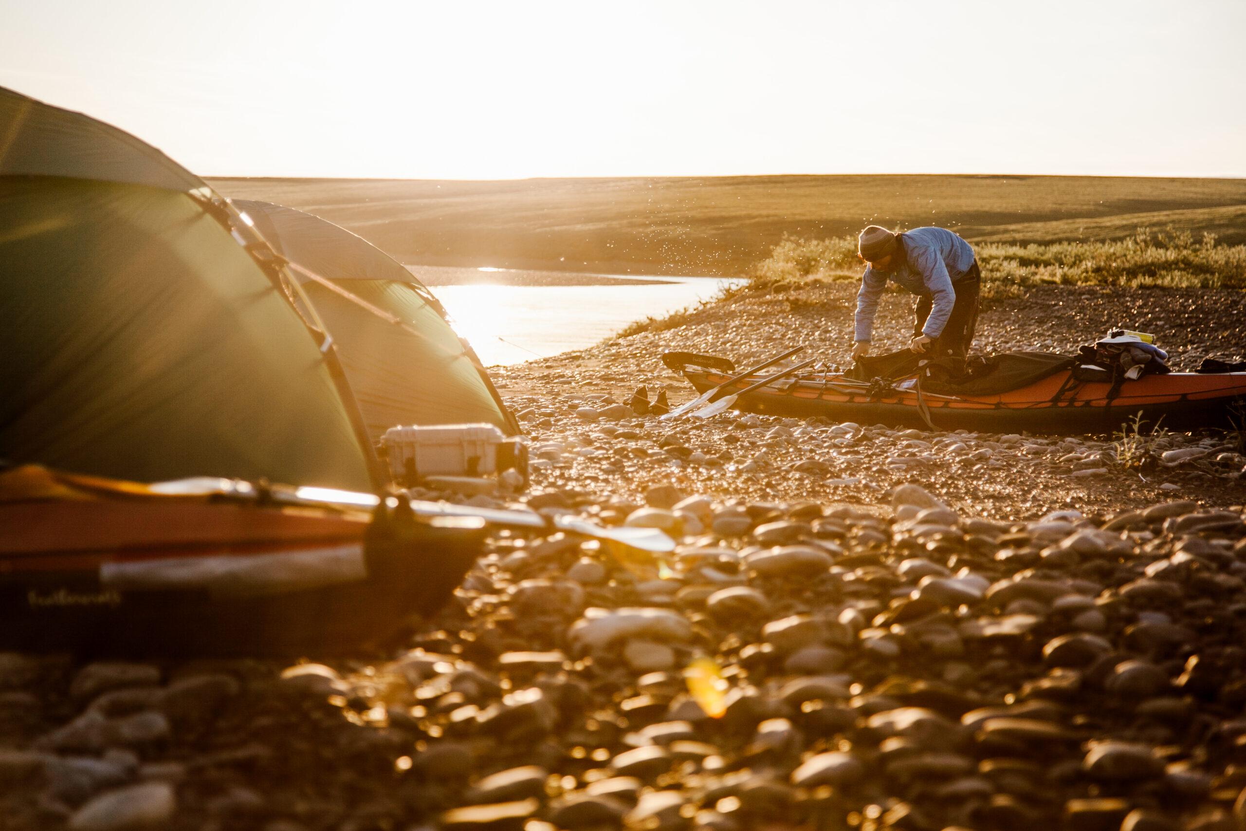 ウールパワーと過ごしたアラスカの夏